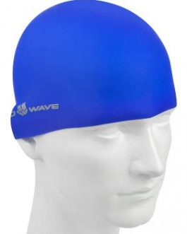 Mad Wave Silicone Intensive Swimming Cap Blue