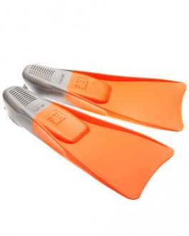 Mad Wave Training Rubber Long Blade Fin / Swimming Snorkeling Flippers