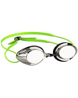 Mad Wave Streamline Mirror Racing Swimming Goggle Green