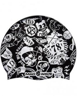 Mad Wave Silicone Printed Junior Cap