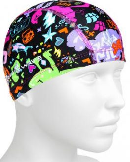 Mad Wave Lycra Swim Cap