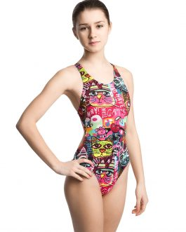 Mad Wave Swimsuit Meow