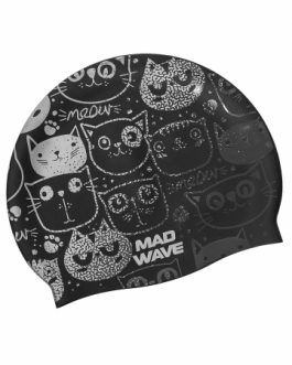 Mad Wave Silicone Cap Meow