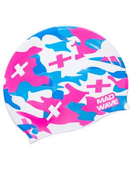Mad Wave Silicone Cap Camouflage