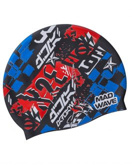 Mad Wave Silicone Cap Race